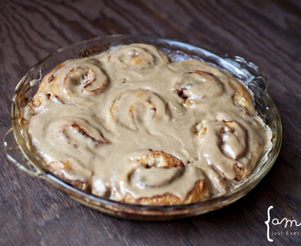Pioneer Cinnamon Rolls {Updated}