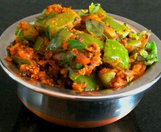 Hot n Spicy Capsicum Masala