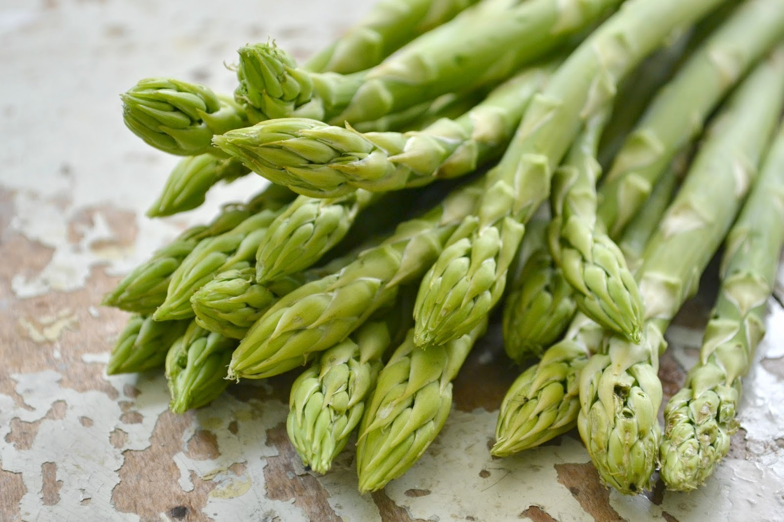 Spargelpfanne - quick and easy dinner with asparagus