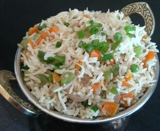 Indian Fried Rice (Restaurant Style)