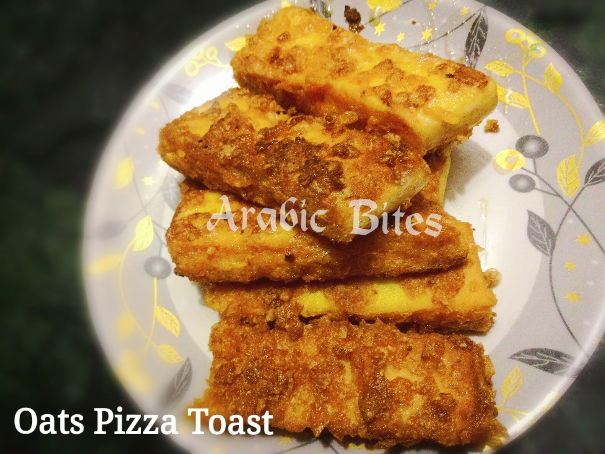 Oats Pizza Toast / Kids Lunch box idea