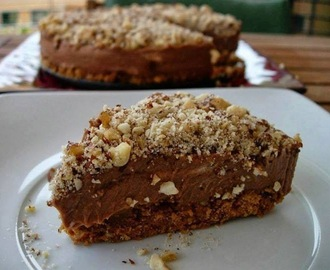 CHEESECAKE DE NUTELLA LIGHT