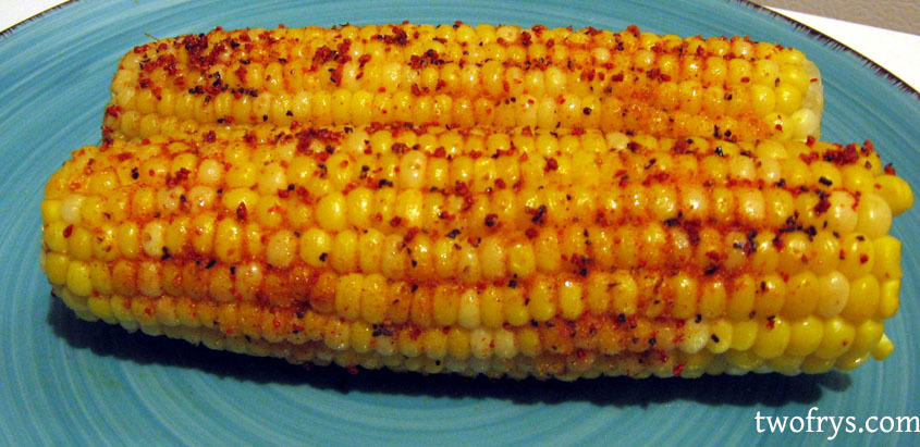 Corn On The Cob Bacon Salt Style