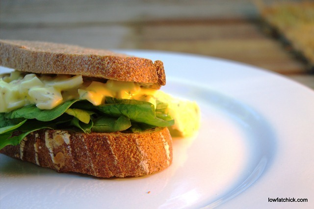 Tarragon Egg Salad Sandwiches