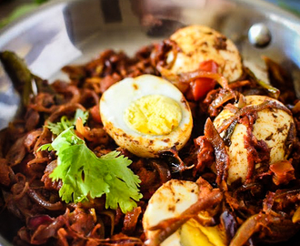 Kerala Style Egg Roast Recipe