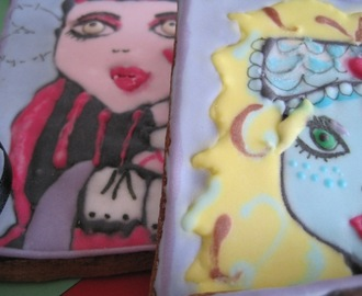 GALLETAS DE CHOCOLATE Y LAS MONSTER HIGH