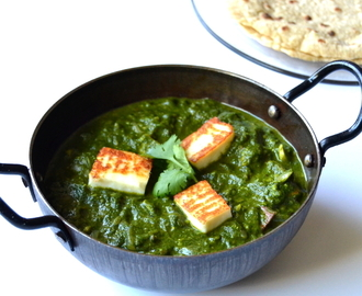Palak Paneer Recipe | Restaurant Style Palak Paneer | Spinach With Cottage Cheese