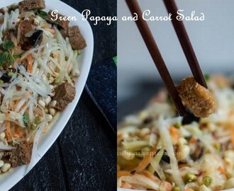 Green Papaya & Carrot Salad