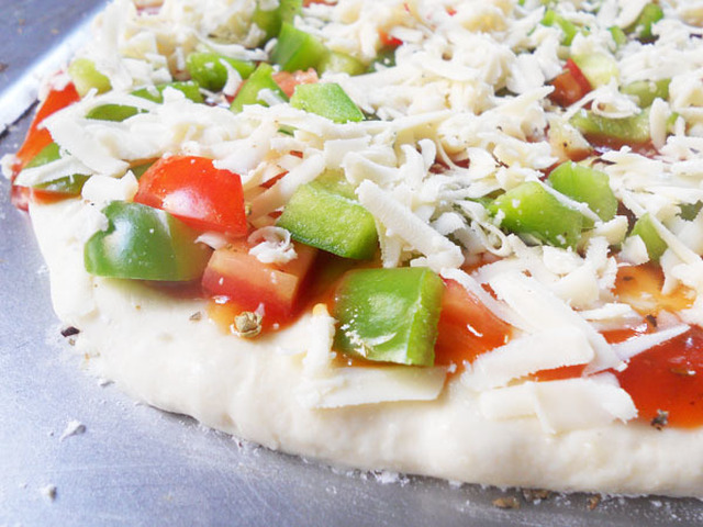 Homemade Pizza Dough From Scratch With a Desi Twist.