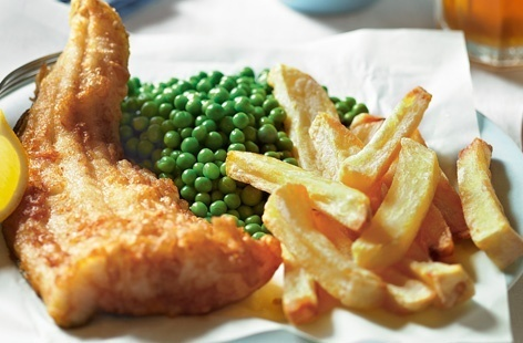Beer-battered fish and chips recipe