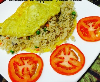 OMELLETE WRAPPED FRIED RICE