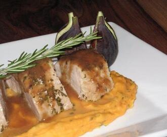 Pork Tenderloin With Fig Port Sauce
