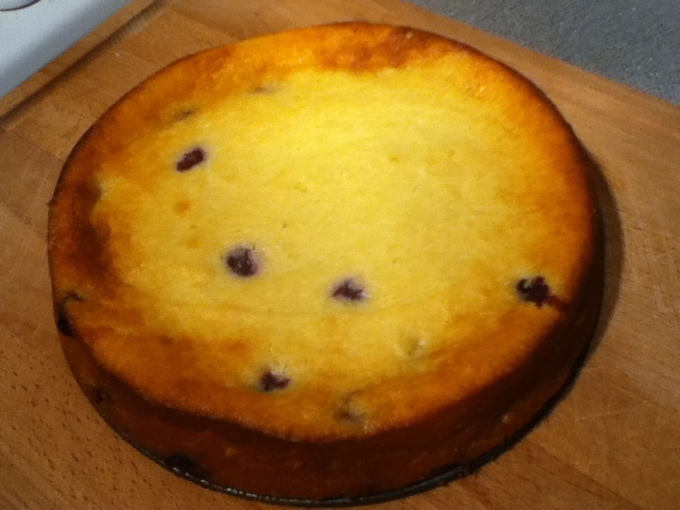 Weekly Bake Off : Blueberry and Lemon Austrian Curd Cheesecake