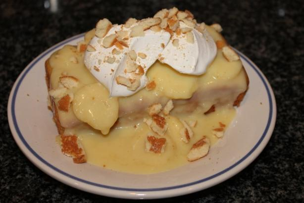 Cake Mix Doctor – Banana Pudding Cake