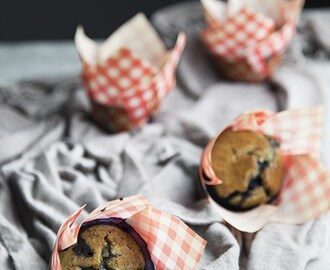 Fit muffin ai mirtilli (senza glutine e lattosio)