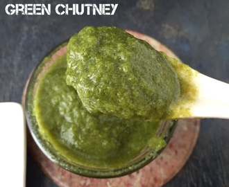 Chatpata GREEN CHUTNEY| One Chutney for Chaat | Quick Chaat Chutney |How to make Green Chutney for Chaat