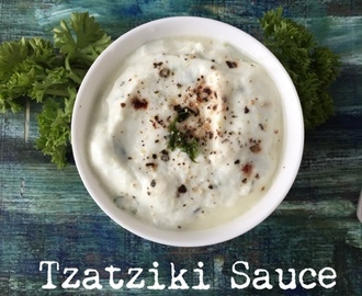 TZATZIKI SAUCE | Greek sauce made easy | How to make Tzatziki Sauce