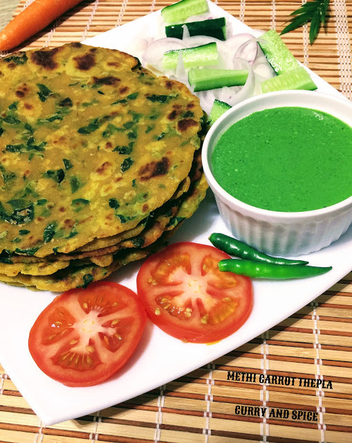 METHI CARROT THEPLA