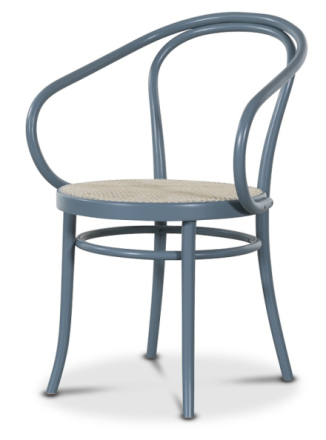 Thonet No30 By Michael Thonet - Pastellblå/Rotting