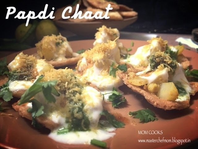 Papdi Chaat- Street food of North India
