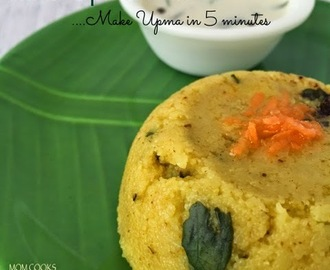 Rava Upma Mix- make Upma in just 5 minutes.