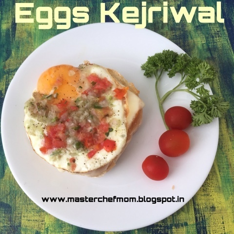 Eggs Kejriwal | Kejriwal Toast | How to make Eggs Kejriwal | Stepwisepictures