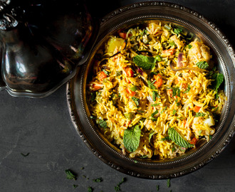 My Mother's Bengali Vegetable Biryani