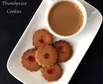 Shrewsbury Thumbprint Cookies | How to make Shrewsbury Cookies from Scratch | Eggfree recipe | Stepwise pictures