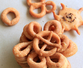 Kodubale recipe - Ring Murukku recipe - Spicy Ring Murukku - Diwali recipe - Snack recipe