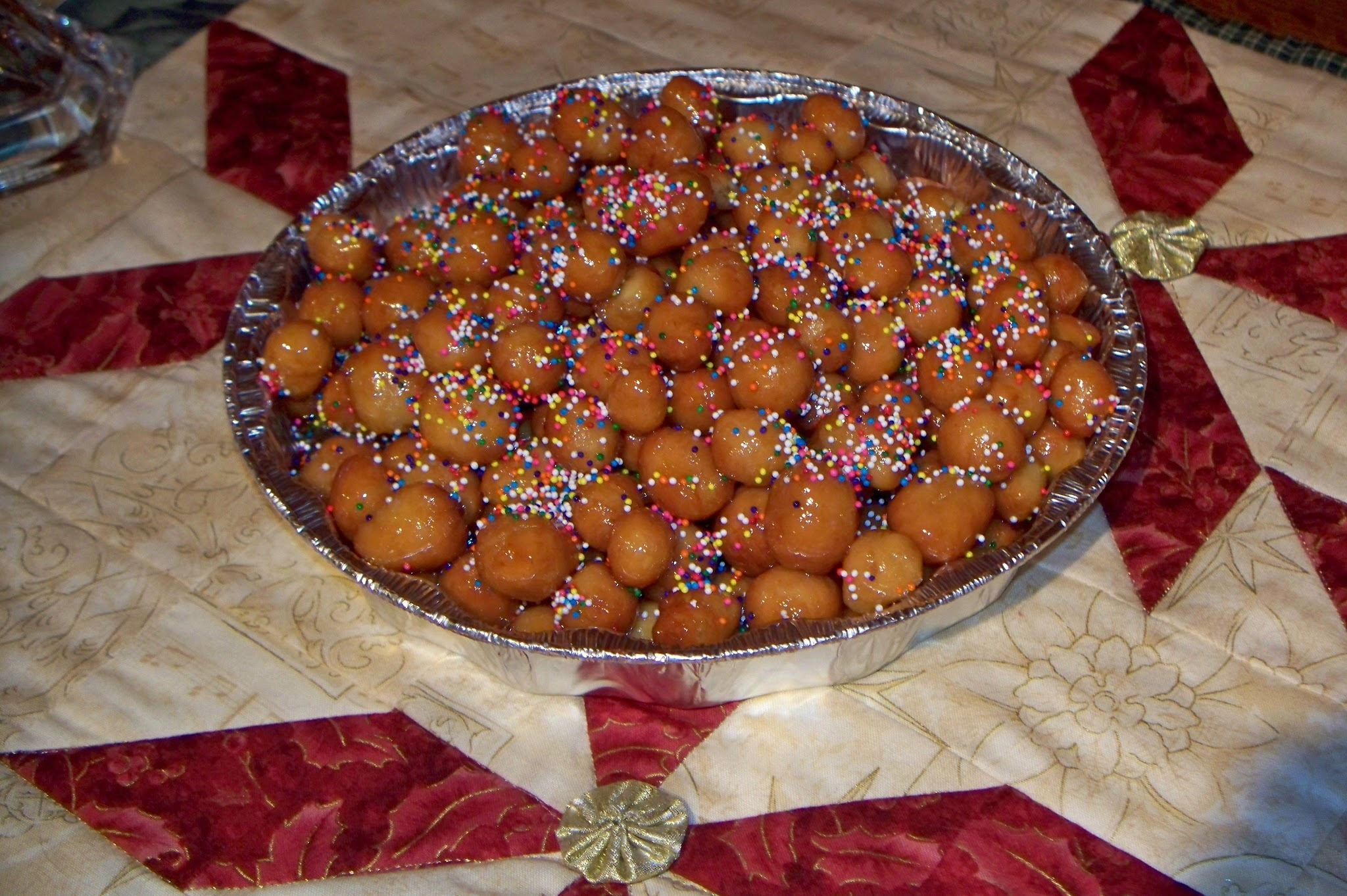 A CHRISTMAS TRADITION: STRUFFOLI