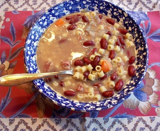 MAKE IT SIMPLE PASTA E FAGIOLI FOR I HEART COOKING CLUBS