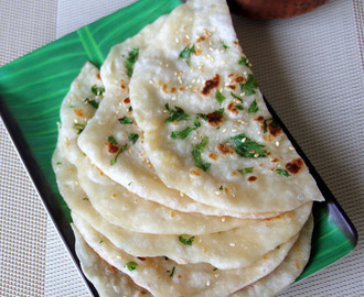 Kulcha recipe - how to make kulcha - Simple dinner recipe