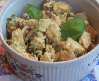 CURRIED CHICKEN SALAD FOR TYLER FLORENCE FRIDAYS