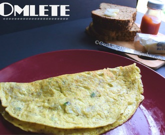 Simple Indian Omelet recipe |How to make a fluffy omellete
