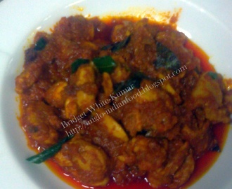 MADRAS CHICKEN CURRY - AN OLD COLONIAL ANGLO-INDIAN DISH