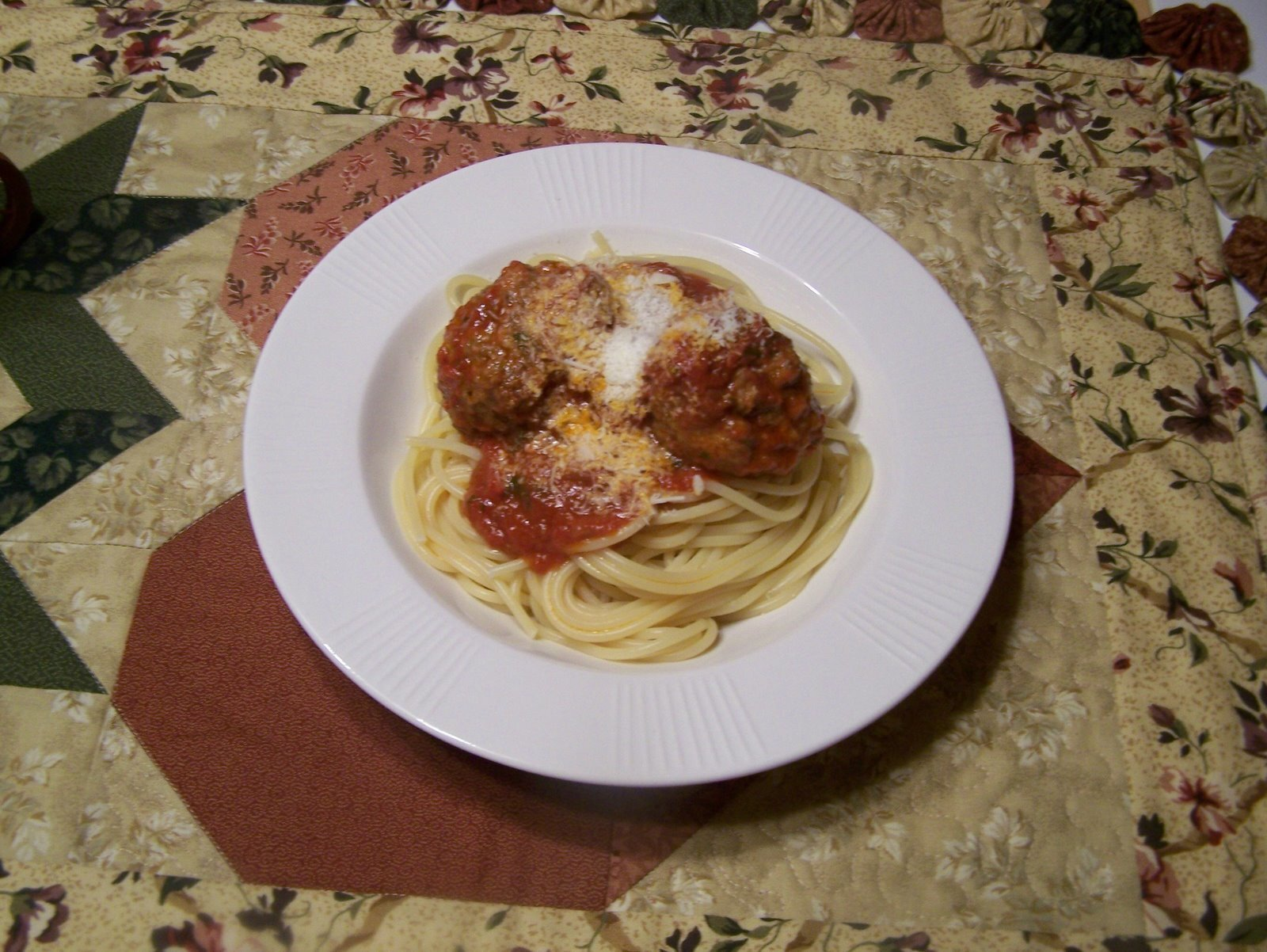 Meatballs and Spaghetti the Barefoot Contessa Way and Stuffed Artichokes