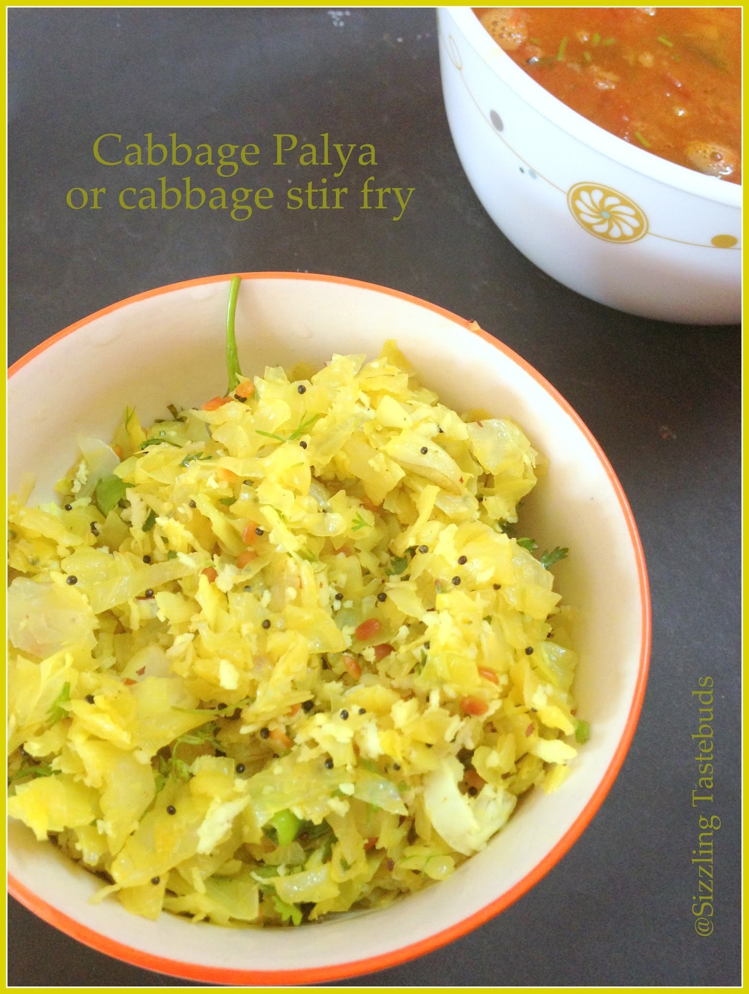 Cabbage Palya | Vegan Cabbage stir fry | Simple Stir Fries