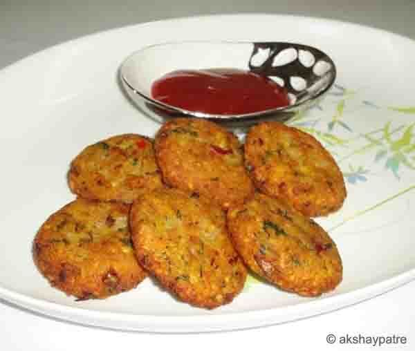 Moong dal aloo nuggets recipe - how to make split green gram potato nuggets
