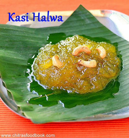 Kasi Halwa Recipe - Poosanikai Halwa - Easy Diwali Sweets Recipe