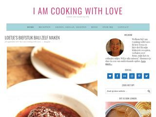 www.iamcookingwithlove.nl