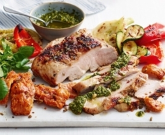Lucy's 'Dad's Favourite' Pesto Pork - Tesco Real Food