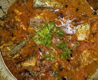 Mackerel (Bangda) Fish Curry