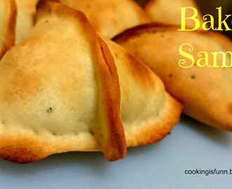 Baked Samosa (Indian Snack)