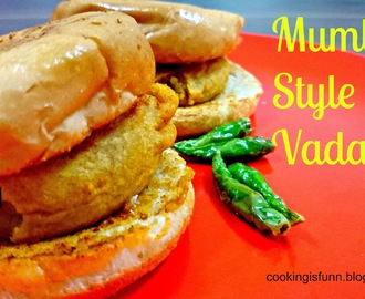 Mumbai Style Vada Pav (Indian Burger)