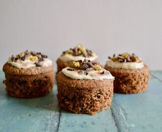 Gluten and Dairy Free Mini Pistachio Cakes