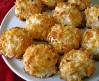 Coconut Macaroons ~ Valentine's Special