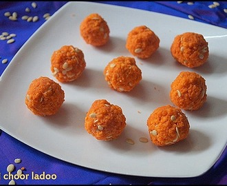 MOTI CHOOR LADOO/DIWALI SWEETS