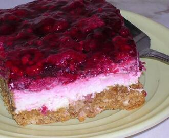 Raspberry Cream Bars