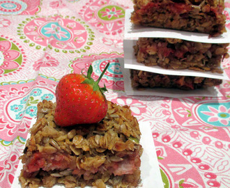Strawberry Flap Jack