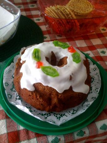 Philly Christmas Bundt Cake (Fruitcake)